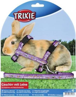 Harnais Carot Killer avec laisse pour lapins