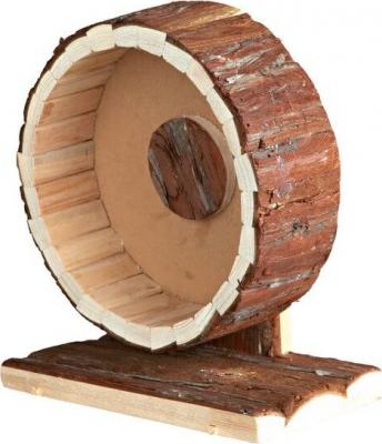 Roue d'exercice en bois