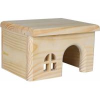 Maison en bois toit plat - plusieurs tailles disponibles