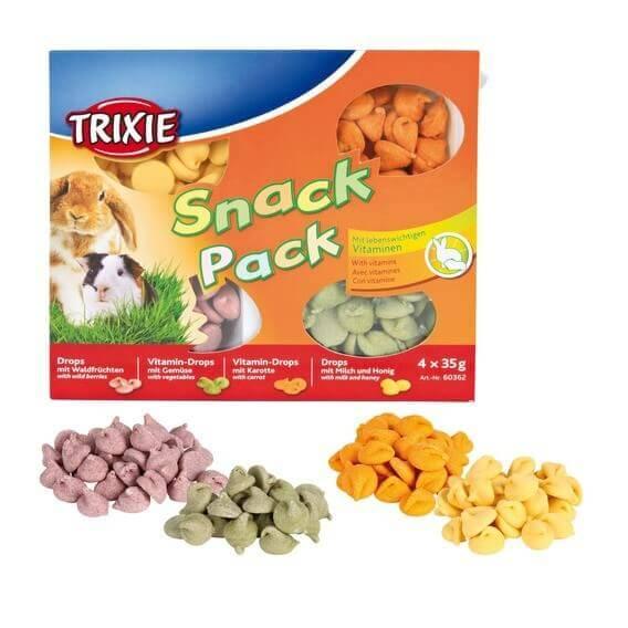 Friandises pour rongeurs et lapins Snack Pack_0