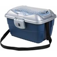 Box de transport Mini-Capri Bleu/Argent