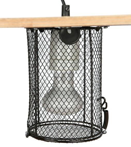 Jaula de protección para lámparas de terrarios _1