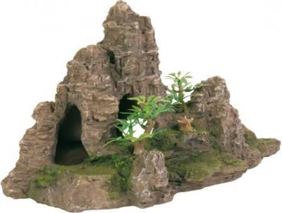 Décor escalier de roche pour aquarium
