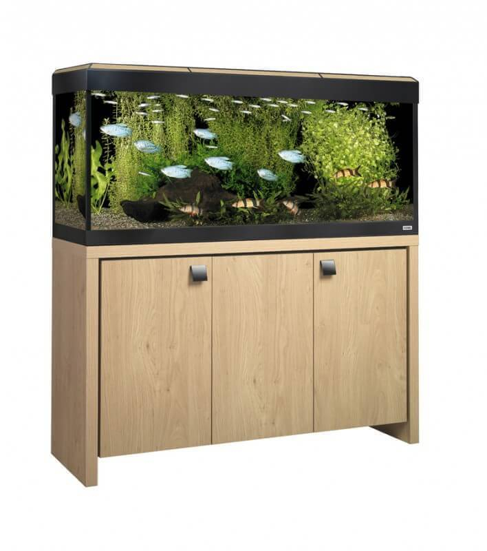meuble aquarium fait maison
