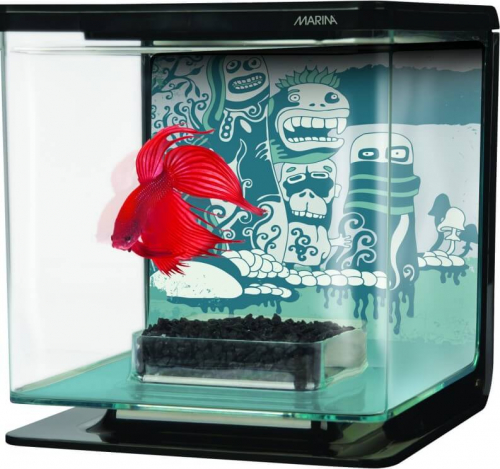 Aquarium Betta Kit Décor Cauchemar