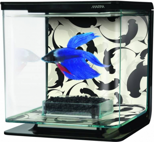 Aquarium Betta Kit Décor Ying Yang