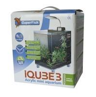 Aquarium IQube 3, mini aquarium vert_1