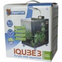 Aquarium IQube 3, mini aquarium vert (2)