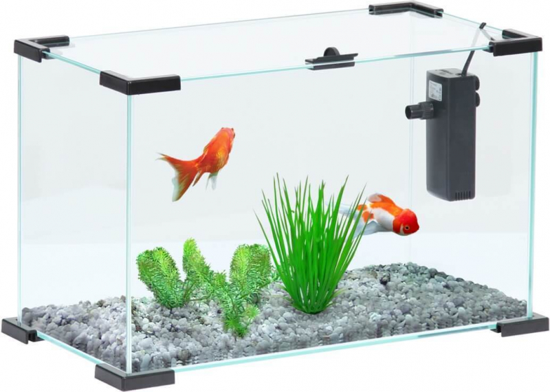 Acuario Nanolife First negro