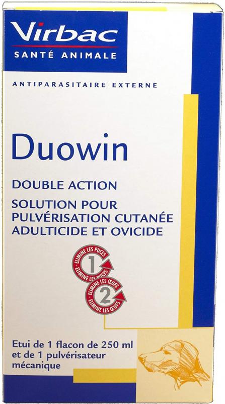 Virbac Duowin Spray, spray anti-puces