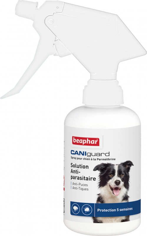 Spray CANIguard Anti-puces et anti-tiques Beaphar