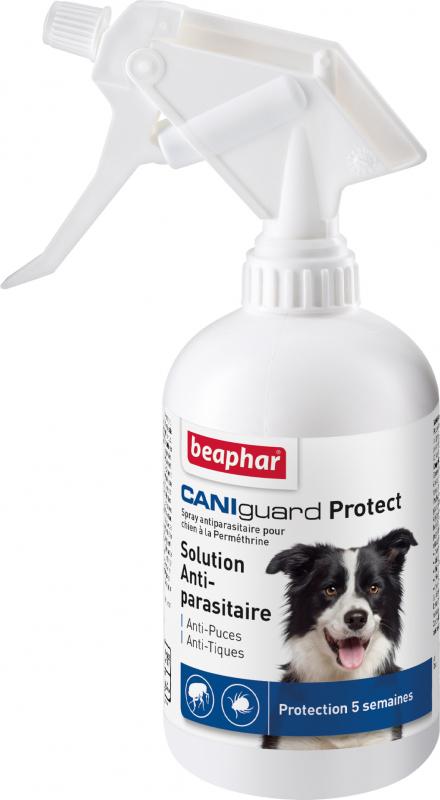 Spray CANIguard Protect Anti-puces et anti-tiques Beaphar