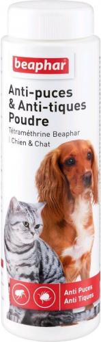 Anti-Parasitenpuder Beaphar für Hunde und Katzen