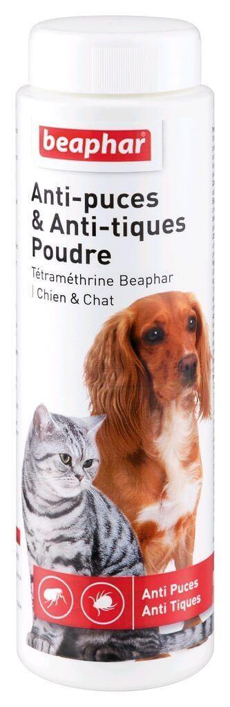 Anti-Parasitenpuder Beaphar für Hunde und Katzen_0