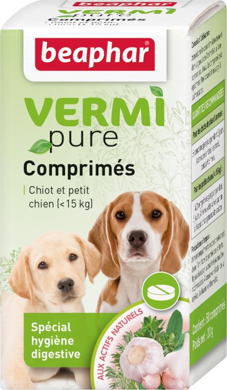 VERMIpure purge aux plantes pour chiot et petit chien