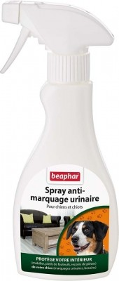 Spray anti-marquage urinaire pour chien