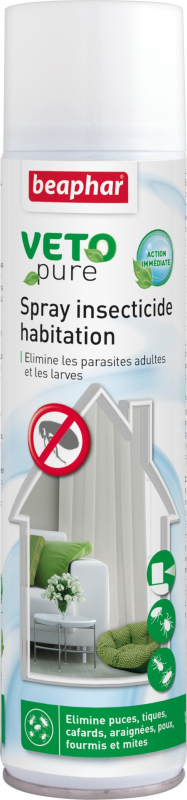 Spray Insecticide habitation