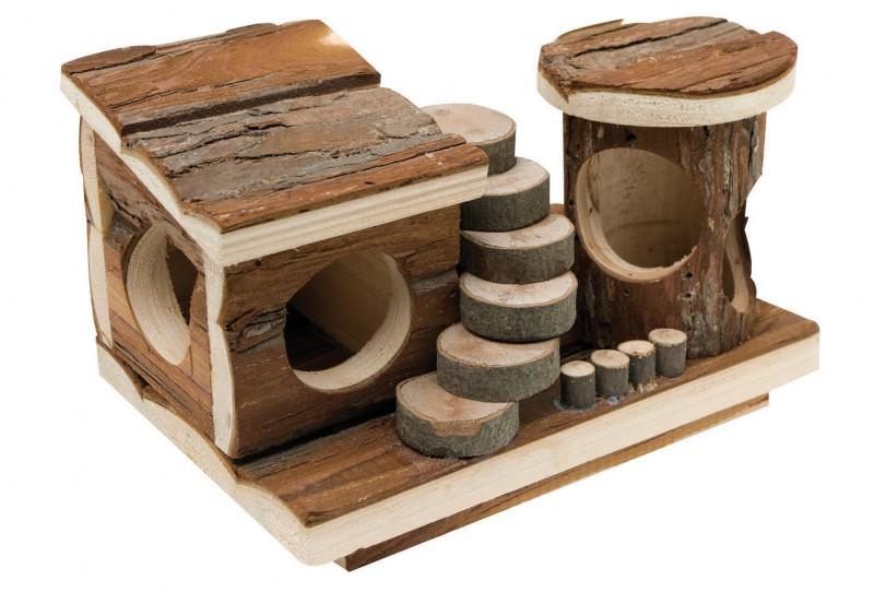 maison aire de jeux pour rongeurs jouet rongeur. Black Bedroom Furniture Sets. Home Design Ideas