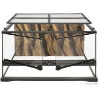Terrarium extra plat 90x45x30cm