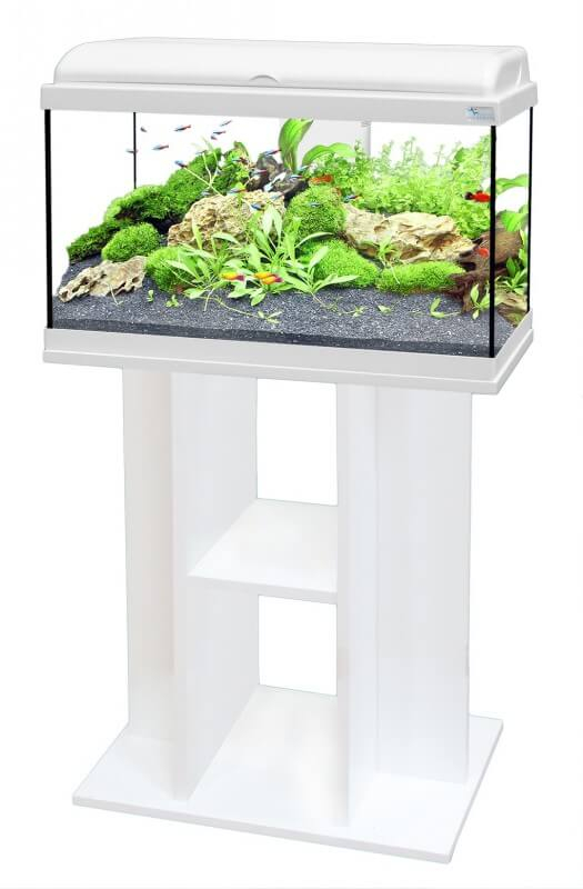 aquadream 60 aquarium cabinet white aquarium tanks and cabinets. Black Bedroom Furniture Sets. Home Design Ideas