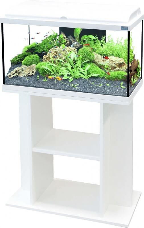 Aquadream 80 Aquarium Cabinet - White_0