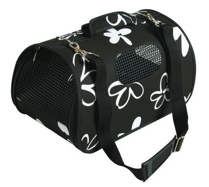 panier de transport flower noir sac de transport. Black Bedroom Furniture Sets. Home Design Ideas