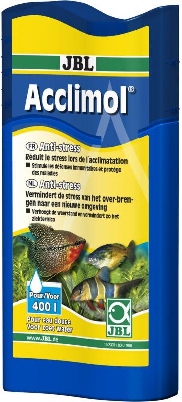 JBL Acclimol Anti-stress pour l'acclimatation des poissons