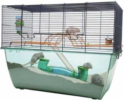 Cage Habitat XL pour hamster et gerbille