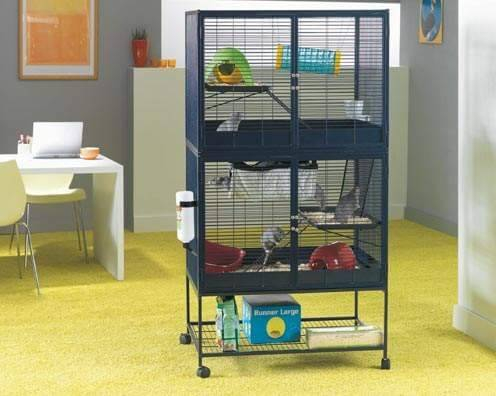 cage savic suite royal 95 double pour furet et rat cage rat. Black Bedroom Furniture Sets. Home Design Ideas