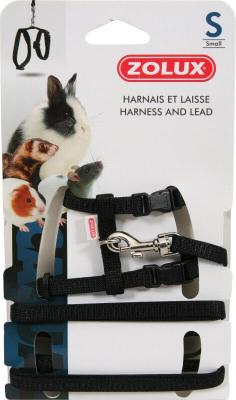 Kit harnais petits mammifères Casual noir