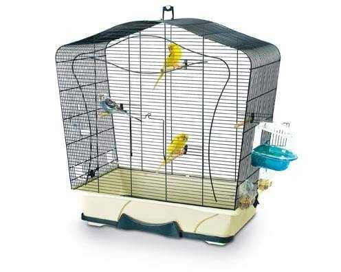 Lily 50 bird cage small bird cages for Cages a oiseaux decoratives