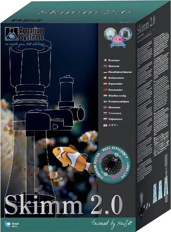 Ecumeur Skimm pour aquarium marin