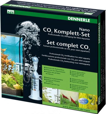 Set Complet CO2 pour nano-aquariums
