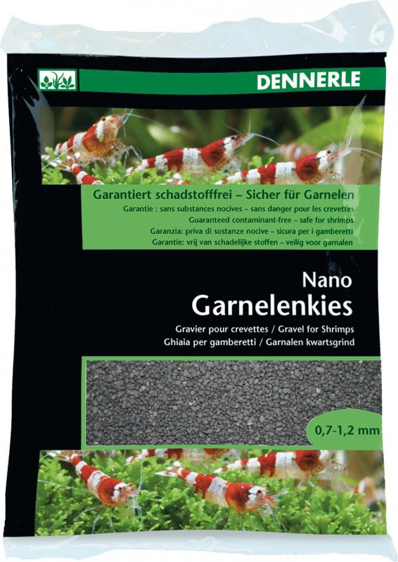 Nano Shrimps Gravel Bed - Sulawesi Black