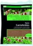 Nano gravier pour crevettes, brun sumatra