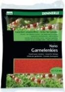 Nano gravier pour crevettes, rouge indien
