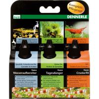 Dennerle Nano Set de soins: engrais, conditionneur, vitamines