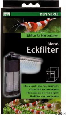 Filtre interne d'angle Dennerle Nano Clean pour mini-aquariums