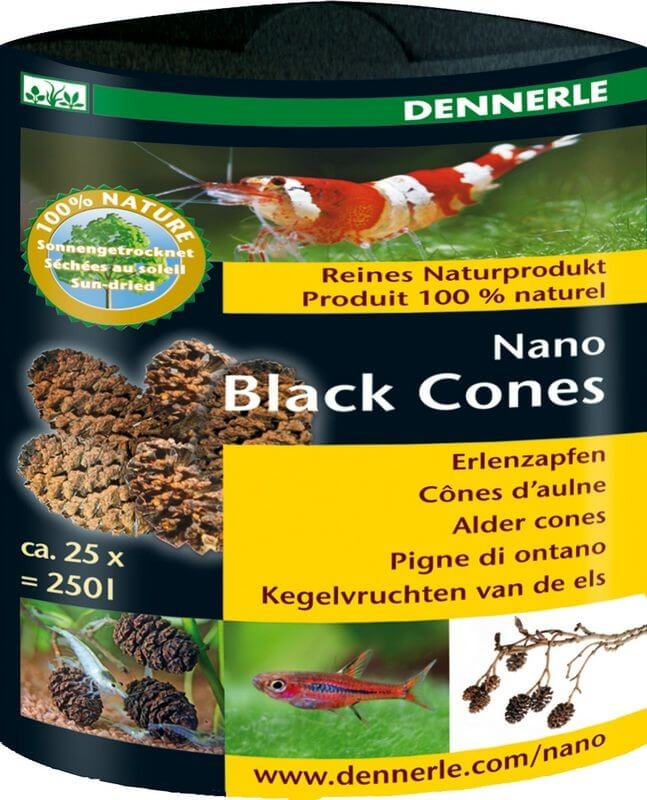 nano black cones for tropical aquarium water water purification