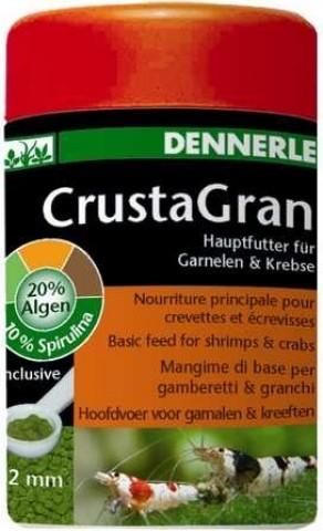Dennerle CrustaGran Nourriture principale pour crevettes et écrevisses, 2mm