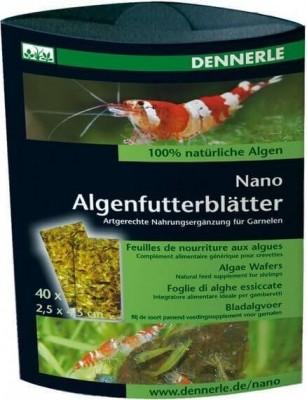 Feuilles de nourriture aux algues pour crevettes