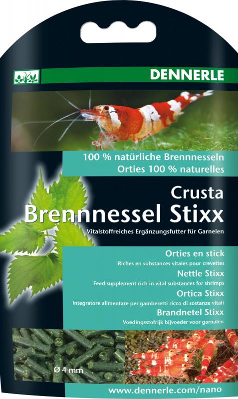 Dennerle Nano Crusta Stixx aux orties pour crevettes