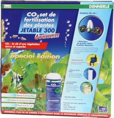Kit CO2 Dennerle 300 Quantum avec bouteille jetable