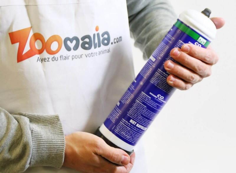 CO2 Botella desechable Dennerle