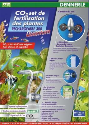 Set CO2 de fertilización de plantas reutilizable 300 Quantum
