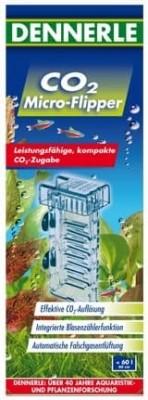 Diffuseur CO2 Micro-Flipper pour aquarium jusqu'à 60 litres