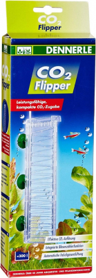 Dennerle Diffuseur CO2 Flipper pour aquarium jusqu'à 300 litres
