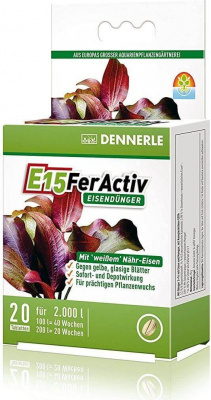 E15 FerActiv White Iron for Rich Green Leaves