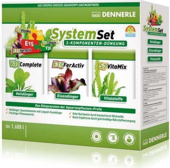 PERFECT PLANT System DENNERLE Set kit engrais pour plantes E15, V30 et S7