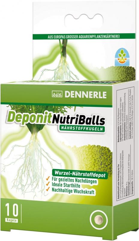 Dennerle Deponit NutriBalls boules d'engrais pour plantes d'aquarium